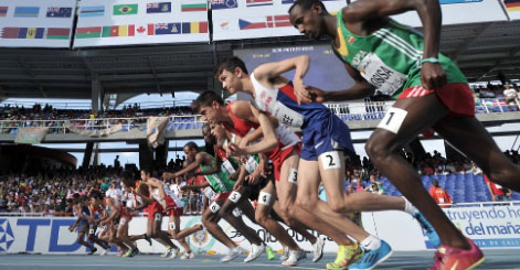 What are the medium-based tests in athletics?